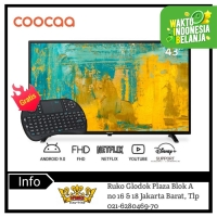 COOCAA 43 inch Android 9.0 Smart LED TV- FHD- Built in Netflix (43S3G)