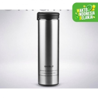 Botol Minum Thermos Stainless Steel Panas Dingin Hot Cold QKELLA 450ml