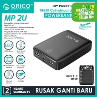 ORICO DIY Powerbank Case / Module 5V 2.4A 12 WATT - MP-2U