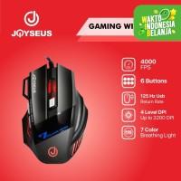 RGB Professional Gaming Mouse JOYSEUS 3200DPI LED USB Wired - MS0007