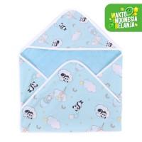 Mooi selimut topi bayi newborn (panda balon)