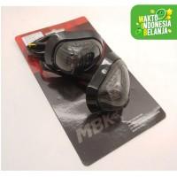 Lampu Sen Fairing Oval Moge R15 R25 Ninja Gsx Cbr Dll Universal