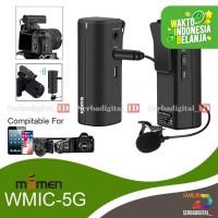 MAMEN WMIC-5G Mini Wireless Mic Microphone for Camera Smartphone DSLR