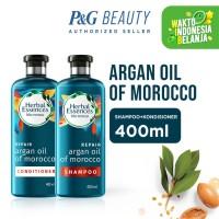 Herbal Essences Repair Argan Oil Morocco Shampoo dan Conditioner 400ml
