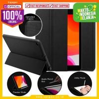 Case iPad 7 10.2 Inch Spigen Urban Fit Fabric Flip Cover Casing