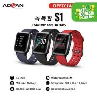 Advan Start Go S1 Smartwatch 1.3 Inch Black