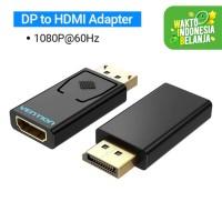 Vention HBK Converter DisplayPort DP To HDMI Female Macbook Windows - HBK 1080p