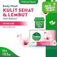 Dettol Barsoap Skincare 105 gr Super Hemat (Isi 10)