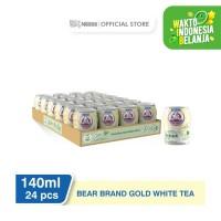 NESTLÉ BEAR BRAND Milk White Tea Minuman Siap Minum 140ml 24 pcs