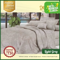 Nutty Nut Sprei Set Micro Jacquard Vl -180x200x30 King- Light Grey