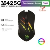 Marvo Mouse Gaming M425G - 3200 DPI Gaming Mouse