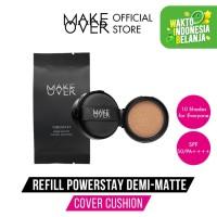 Make Over Refill Powerstay Demi-Matte Cover Cushion N30 Natural Beige - N50 Tan