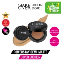 MAKE OVER Powerstay Demi-Matte Cover Cushion N30 Natural Beige 15 g