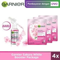 Garnier Sakura White Booster Package