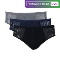 Flyman Celana Dalam Pria Dewasa | Pakaian Dalam | FM 3245 1 Pack Isi 3