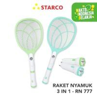 Starco Raket Nyamuk 3 in 1 RN-777