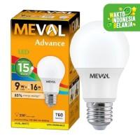 LED Bulb 9W - Cool White MEVAL