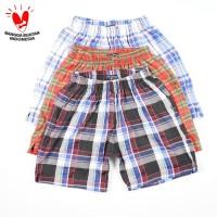 Daily Outfits (Bundling 2Pcs) Celana Pendek Boxer Premium Quality