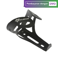Rockbros 2009-14C Bicycle Bottle Cage Holder - Pegangan Botol BLACK