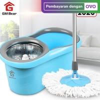 GM Bear Spin Mop Biru 1020-Ultra Mop Aclima Blue