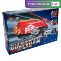 BLAZE STORM GUN (REPLIKA NERF) TSG-002 Mainan Anak Pistol Tembakan Gun