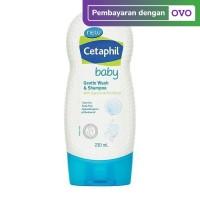 Cetaphil Baby Gentle Wash & Shampoo withGlycerin & Panthenol, 230ml