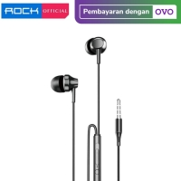 ROCK SPACE ES01 with Mic In-ear HIFI High Quality Stereo Earphone