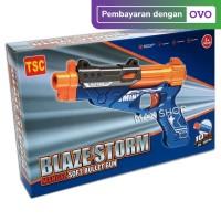 BLAZE STORM GUN (REPLIKA NERF) TSG-001 MAINAN ANAK PISTOL TEMBAKAN GUN