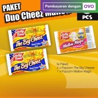 Paket Duo Cheez Mallow (2TBC, 1MM) - Jolly Time Mircowave Popcorn