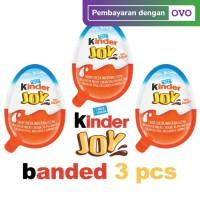 Cokelat KINDER JOY for BOYS Coklat dengan Mainan Kejutan [20gr x 3]
