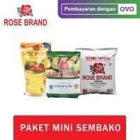 Paket Mini Sembako Rose Brand