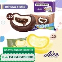 Paket Aice Mochi Duo E (isi 20pcs Cokelat dan 20 pcs Durian)