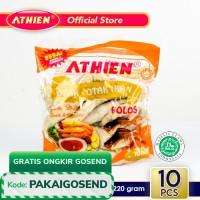 Athien - Otak-otak Goreng Ikan Polos Asli Belitung / 220 gram