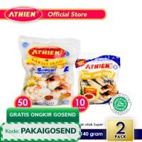Athien - BUNDLE Bakso Ikan SUPER A + Otak-Otak SUPER / 1.140 gram