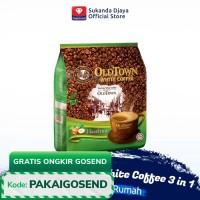 Old Town Kopi Instan White Coffee 3 in 1 Hazelnut (15 sachet)