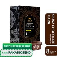 WoCA Krunz Chocolate Dark with almonds 8 individual packs