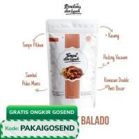 Kering / Orek Tempe Balado Plus Kacang dan Teri Medan /Den Lapeh Food