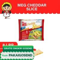 MEG Cheddar Slice 8 Slices