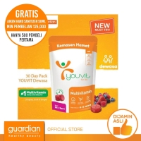 Youvit Multivitamin Gummy Dewasa 30 Days (12 Pouch)