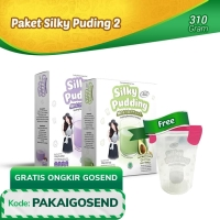 Paket Silky Pudding 2 - FREE Food Container