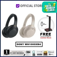 Sony WH-1000XM4 Wireless Headphone WH1000XM4 WH 1000XM4 WH1000 XM4 - Hitam