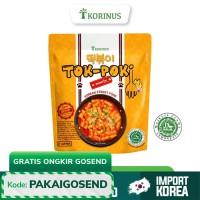 K - Bunsik Tokpoki / Tteokbokki / Toppoki / Tok-Poki Instan Halal MUI