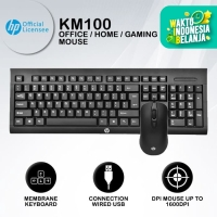 HP Combo Keyboard + Mouse Gaming KM100
