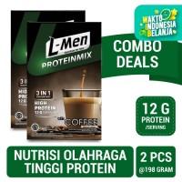 Twin Pack: L-Men Proteinmix Coffee (6 Sch) - 12gr Protein / Serving
