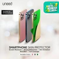 UNEED Skin / Garskin Smartphone Protector - Metallic Series