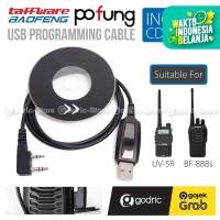 Baofeng HT USB Programming Cable / Kabel Data + CD Driver