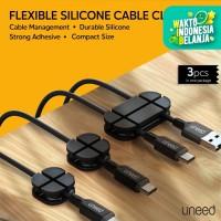 UNEED Cable Clip Organizer Kabel Klip 3pcs - UCO202