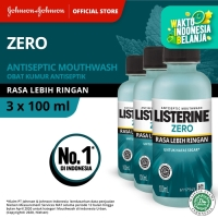(DAPAT 3) LISTERINE® ZERO Mouthwash / Obat Kumur 100ml