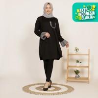 Yoenik Apparel Ava Pocket Dress Black M12602 R7S7