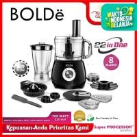 BOLDE Food Processor Blender 22 IN 1 OLYMPUS [GARANSI RESMI]
